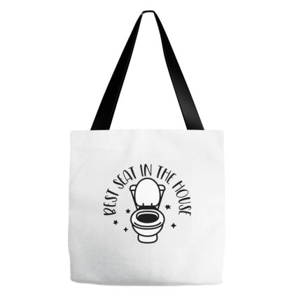 Best Seat In The House Tote Bags Designed By Zig Street