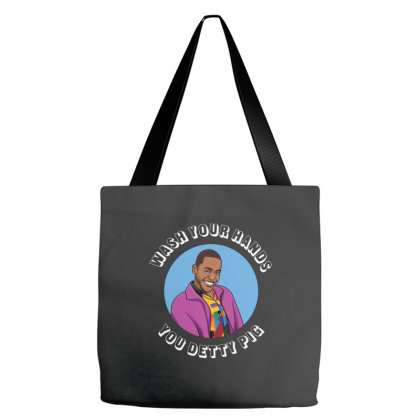Wash Your Hands You Detty Pig Tote Bags Designed By Jordan Shop