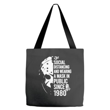 Wearing A Mask Since 1980 Tote Bags Designed By Jordan Shop