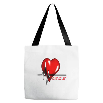 Love Amour Tote Bags Designed By Star Store