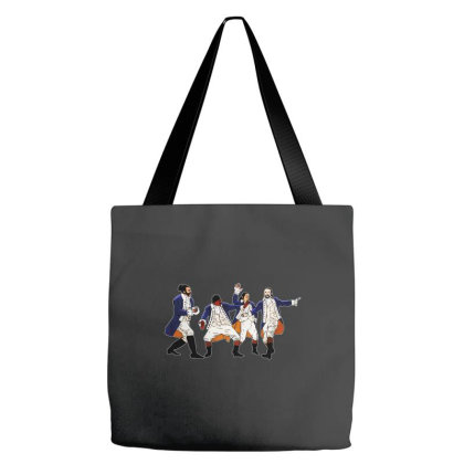 Funny Hamilton Tote Bags Designed By Brave Tees