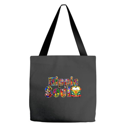 Hippie Soul Tote Bags Designed By Brave Tees