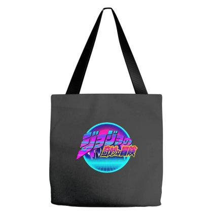 Jojo's Bizzare Adventure 80s Logo Tote Bags Designed By Star Store