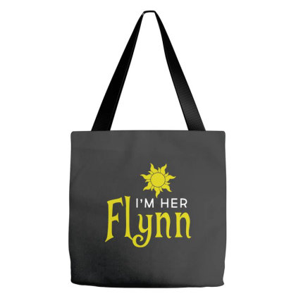 I'm Her Flynn Tote Bags Designed By Brave Tees