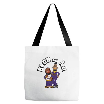 It's The Bron And Ad Tote Bags Designed By Brave Tees