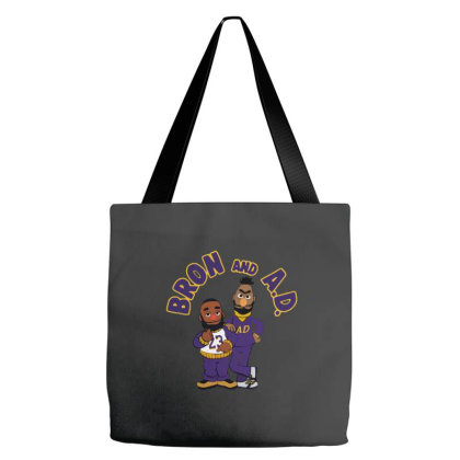 It's The Bron And Ad  2 Tote Bags Designed By Brave Tees