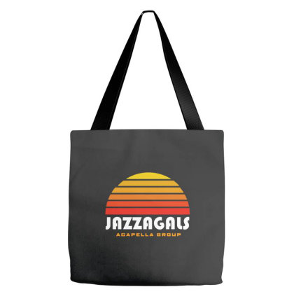 Jazzagals Acapella Tote Bags Designed By Brave Tees