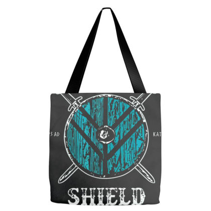 Lagertha's Shield Maidens Tote Bags Designed By Oceaneyes