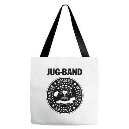 Jug Band Tote Bags Designed By Brave Tees