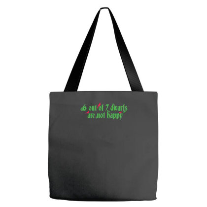 6 Out Of 7 Dwarfs Tote Bags Designed By Prakoso77