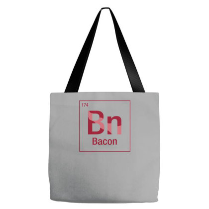 Bacon Element Tote Bags Designed By Prakoso77
