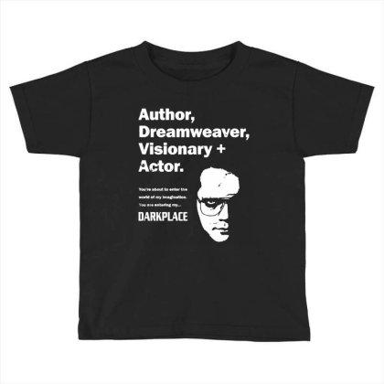 Author Dreamweaver Darkplace Toddler T-shirt Designed By Richard Art