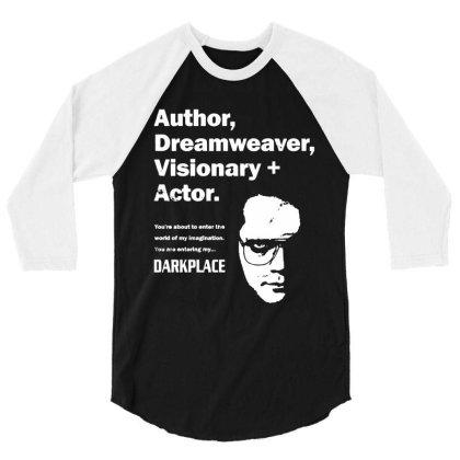 Author Dreamweaver Darkplace 3/4 Sleeve Shirt Designed By Richard Art