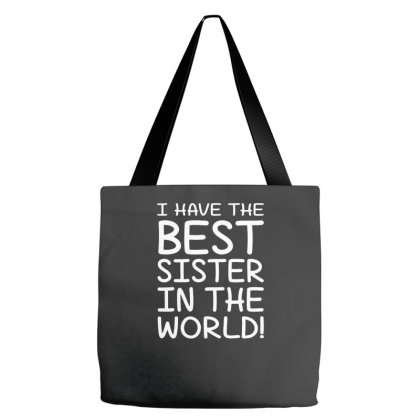 Best Sister In The Word Tote Bags Designed By Prakoso77