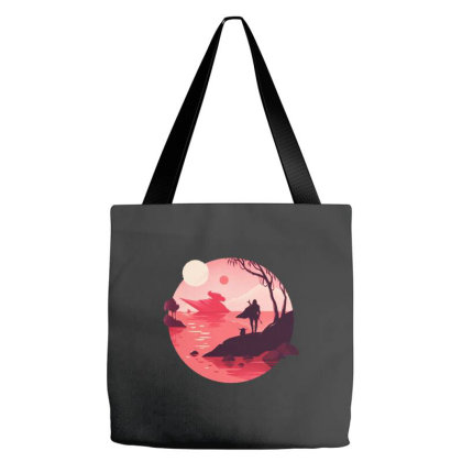 Mandalorian Tote Bags Designed By Brave Tees