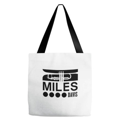 Miles Davis Tote Bags Designed By Green Giant