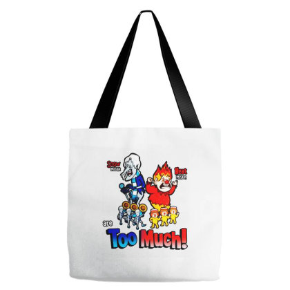 Miser Brothers   Too Much Tote Bags Designed By Green Giant