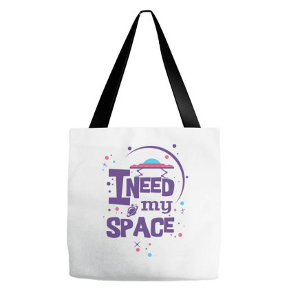 I Need My Space Tote Bags Designed By Kahvel