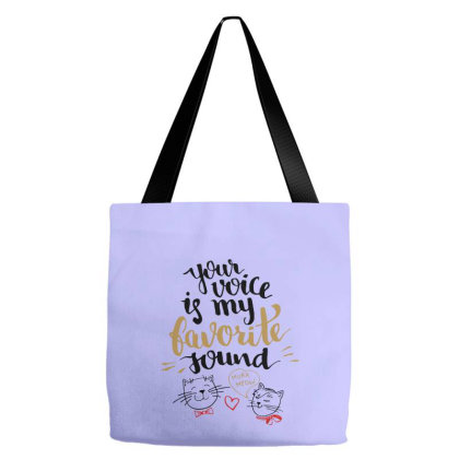 Favorite Sound Tote Bags Designed By Chiks
