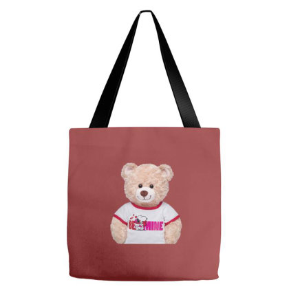 Be Mine Tote Bags Designed By Şen