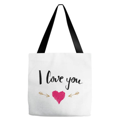 I Love You Tote Bags Designed By Chiks