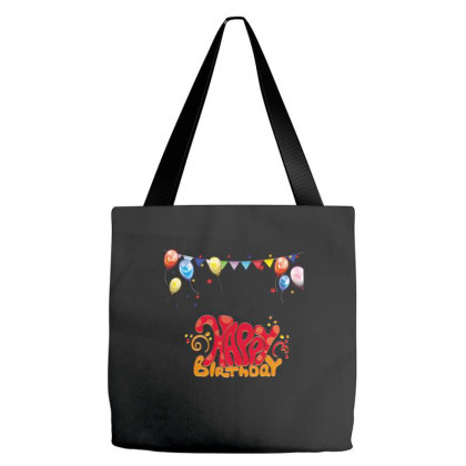 Happy Birthday Tote Bags Designed By Şen