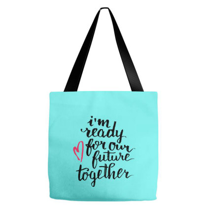 Future Together Tote Bags Designed By Chiks