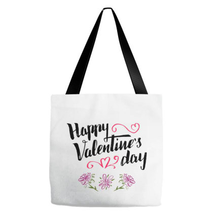 Happy Valentine's Day Tote Bags Designed By Chiks