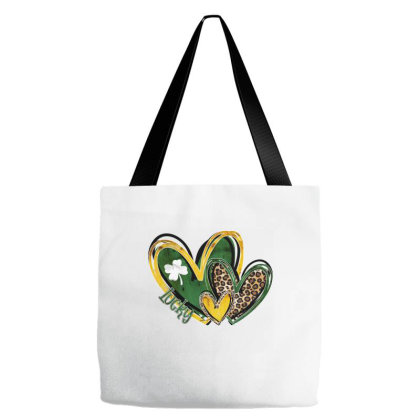 Lucky Heart Tote Bags Designed By Badaudesign