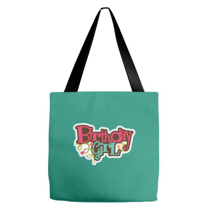 Birthday Girl Tote Bags Designed By Şen