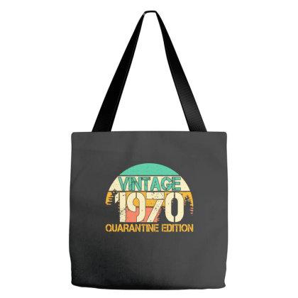 Vintage 1970 Quarantine Edition Tote Bags Designed By Badaudesign