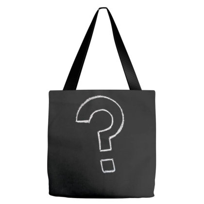 Question Tote Bags Designed By Şen
