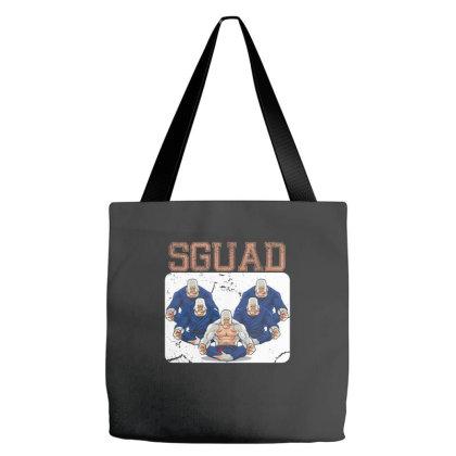 Jiu Jitsu Gorilla Squad Tote Bags Designed By Badaudesign