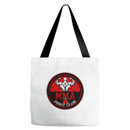 Mma Fight Club Tote Bags Designed By Badaudesign