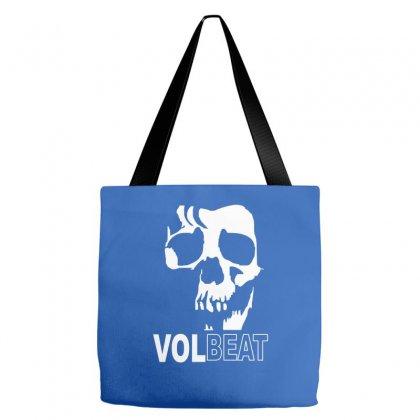 Volbeat Danish Rock Band Cool Skull Tote Bags Designed By Mdk Art