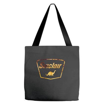 Vintage Sinclair Logo Tote Bags Designed By Badaudesign