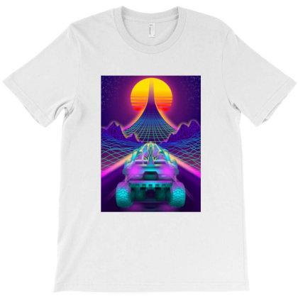 Outrun Retrowave Merch T-shirt Designed By Bambangtriadmaja