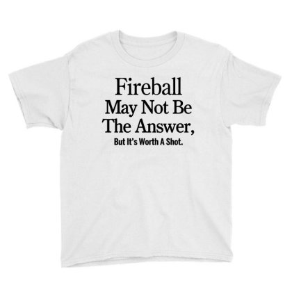 Fireball Youth Tee Designed By Yay Store