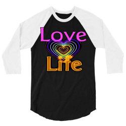 Love life 3/4 Sleeve Shirt | Artistshot