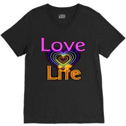 Love life V-Neck Tee | Artistshot