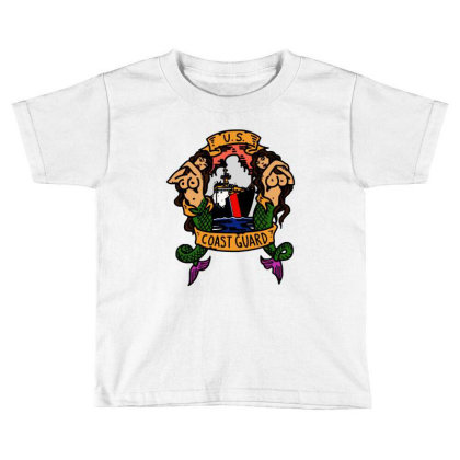 Coast Guard Toddler T-shirt Designed By Trendtee