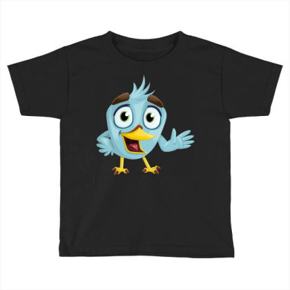 Charming Bird Toddler T-shirt Designed By Chiks