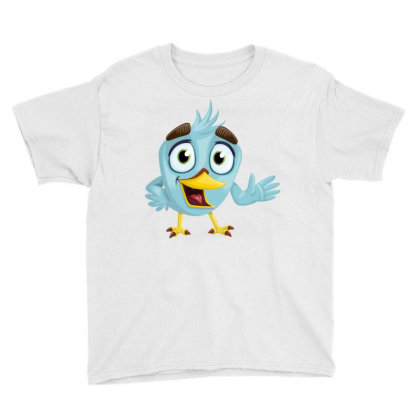Charming Bird Youth Tee Designed By Chiks