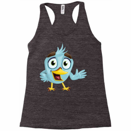 Charming Bird Racerback Tank Designed By Chiks