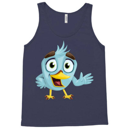 Charming Bird Tank Top Designed By Chiks