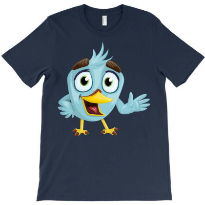 Charming Bird T-shirt Designed By Chiks