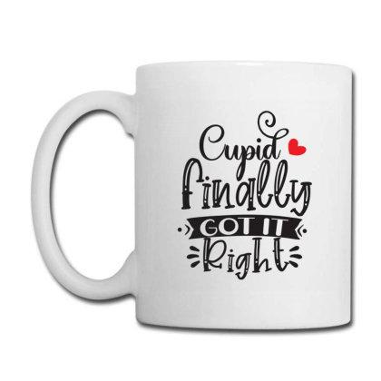 Cupid Finally Got It Right 01 Coffee Mug Designed By Pompoyo