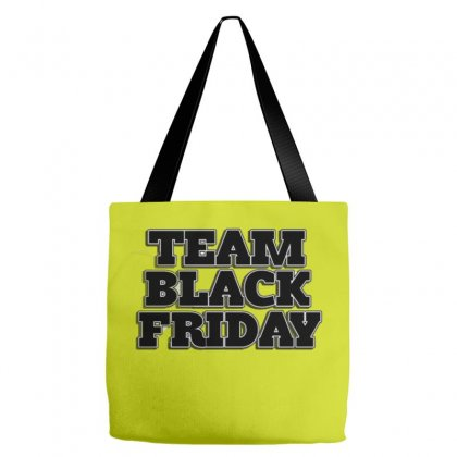Team Black Friday Tote Bags Designed By Kiva27