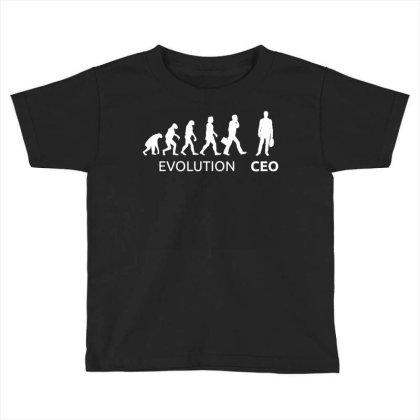Ceo Entrepreneur Businessman Toddler T-shirt Designed By Enjang