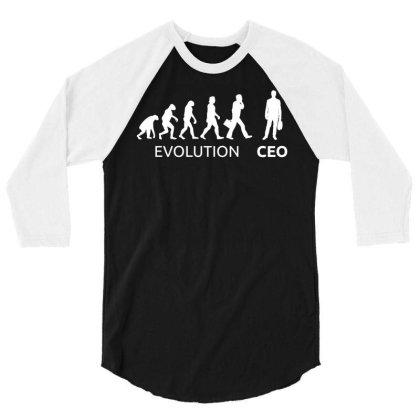 Ceo Entrepreneur Businessman 3/4 Sleeve Shirt Designed By Enjang